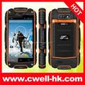 Descubrimiento V8 + grado militar resistente Smartphone del teléfono móvil soporte a prueba de golpes y prueba de polvo e impermeable