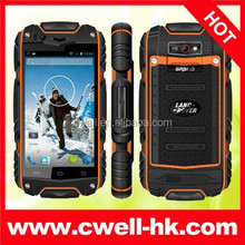 DISCOVERY V8+ Military Grade Rugged Smartphone mobile phone support shockproof and dustproof and waterproof