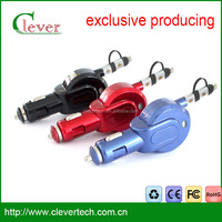 CLEVER fashional universal usb car charger for all mobile phone