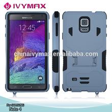 más nuevo modelo de Samsung Galaxy Note 4 células accesorio del teléfono