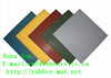colorful rubber mat Outdoor rubber tile safety shock resistant rubber flooring mat