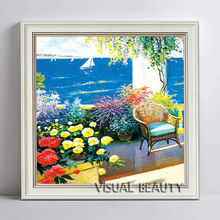 High Quality Oil Painting For Sale,Sea View Oil Painting