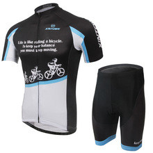 XINTOWN snow ride a bike jersey short-sleeved suit summer clothes wicking quick-drying underwear