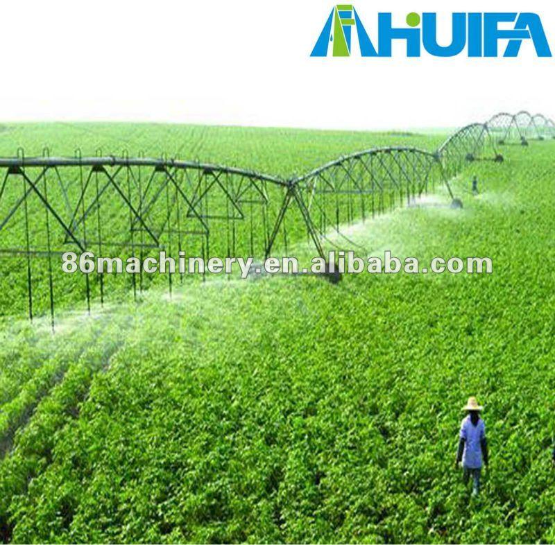Pivô central irrigação agrícola equipamento
