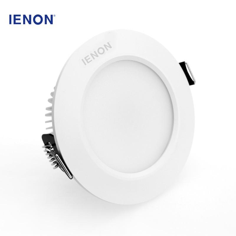 wholesale led lighting aluminum eyeshield round recessed cool white 3w