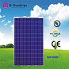 Exceptional a-grade cell 240w poly solar panel