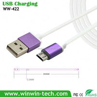 wall charger adapter micro usb cable with retail box for Support Data Transfer