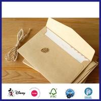 Wholesale Mini Blank Greeting Cards Kraft Paper Envelopes
