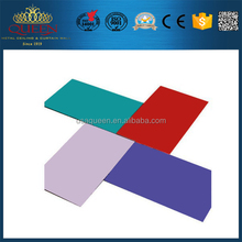 Decorative exterior wall panel acm for 4mm building material