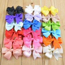 STOCK 3inch grosgrain ribbon hair bows ,baby hairbow,Boutique bow for Children hair accessories wholesale