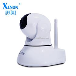 P2P plug connection WiFi security camera Pan/Tilt IP camera wireless