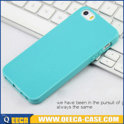 Candy color 1.2mm thick tpu case for iphone 4 4s 5 6 jelly case