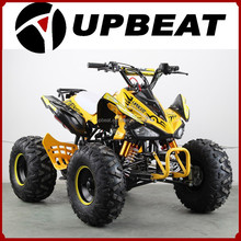 UPBEAT high quality big power 125cc ATV/quad bike off road 8inch four wheel bike