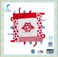 Stuffed&Plush Animal baby security blanket baby soft blanket Owl blanket
