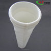 High dust collection efficiency polyester filter bag with PTFE membrane coated used for cement/alumina transmission