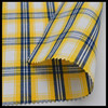 100 % cotton yarn dyed woven check fabric for garment