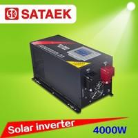 China solar inverter 4kw pure sine inverter price