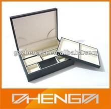 Custom Good Quality Leather Jewel Box