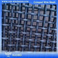 Ss Crimped Wire Mesh Mining Sieve Mesh 1.2Mm Crimped Wire Mesh