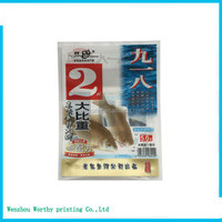 Food Plastic Bag/long Thin Bag For Seafood Flexible Packaging,