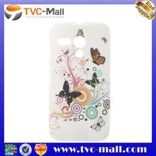 Butterflies Circle Plastic Protective Case for Motorola Moto G DVX XT1032