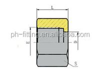 ORFS Fitting NB200-F emb hydraulic fittings