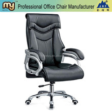 office chair with adjustable inclined back leather executive swivel office chair mechanism tilting -9753