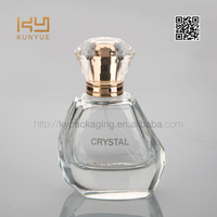 best design women luxury perfume glass bottle 60ml