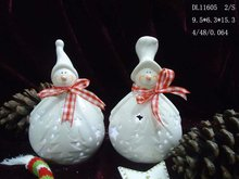 Christmas Snowman Candle holder for 2012 DL11605