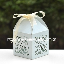 """Elegant And Graceful Wedding Decoration China Manufacturer! """"Wave"""" Wedding Giveaways Boxes With Free Ribbon From Mery Crafts"""