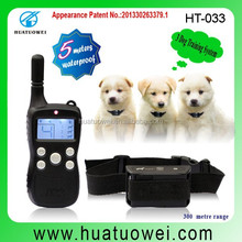 Remote training collar for Dogs shock vibration and tone