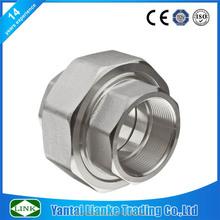 socket weld and npt thread API 150lbs weld threaded union pipe fitting