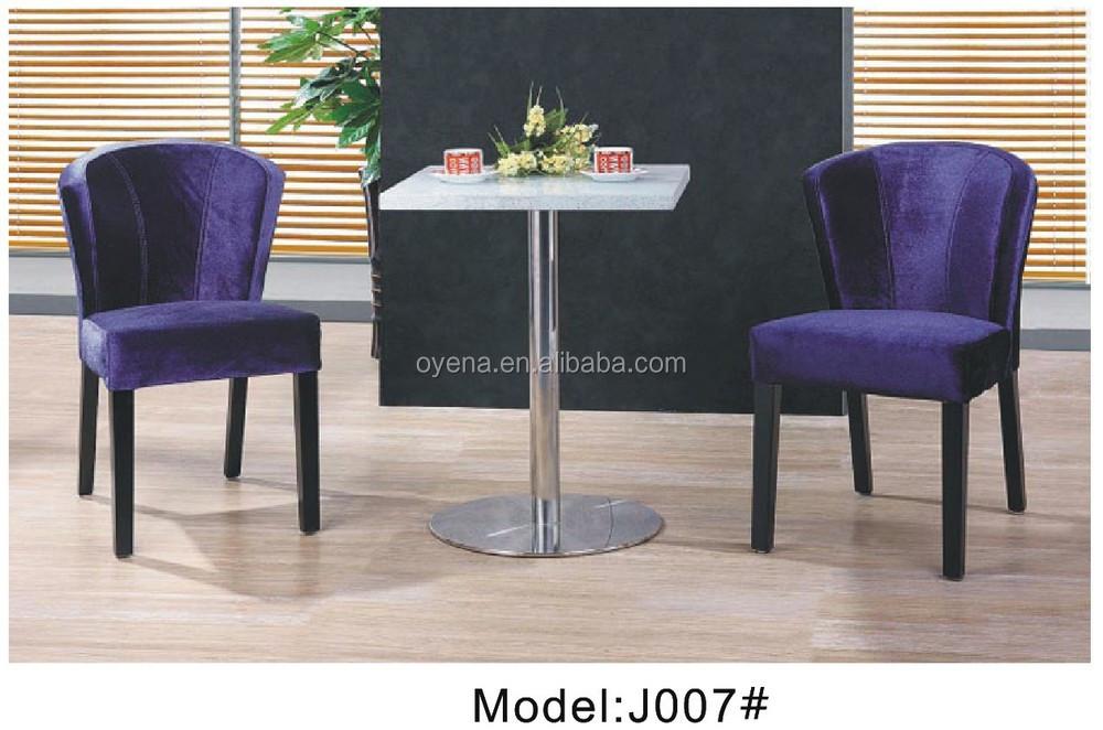 M s nuevo terciopelo silla de comedor hogar furntirue for Lo ultimo en sillas de comedor
