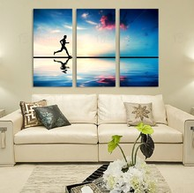 Hot Sale Home Decor 3 Piece European Wall Picture for Restaurant