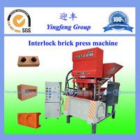 Easy to operate!!!ECO7000 clay soil interlock brick make machine