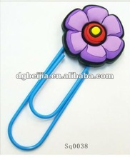 popular flower shape hand made souvenirs bookmark