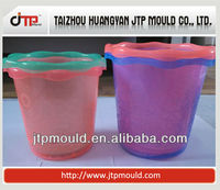 household plastic wastebasket mould with good steel