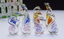 Di cristallo matrimonio anniversario idee regalo/cristallo cigno/bomboniera