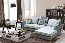 Modern style home restaurant rattan sofa seat with cushion