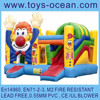 inflatable multiply clown /inflatable clown bouncer/inflatable 3 in 1 combo game
