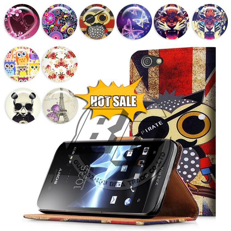Sony Xperia sony xperia miro phone case : ... Case,Case For Sony Xperia Miri St23i,Flip Case For Sony Xperia Miro