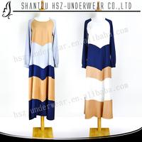 MDZ004 Cotton jubah lycra popular Islamic jubah elegant wholesale muslim abaya jubah