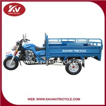 KV150ZH-B Flash blue cargo tricycle made for village in guangzhou china