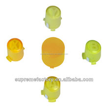 For XBox 360 Yellow Wired Wireless Controller Joypad Custom ABXY Guide Button Set