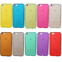 Wholesale Price Hot Sale Transparent 1mm Soft TPU Case for Apple iPhone 6s Plus Case
