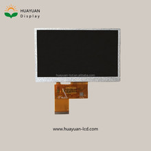 tft lcd manufacturer 5 inch transflective tft lcd display and 24 bit RGB interface