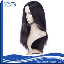 New Arrival Luxurious Human Hair Wig Top Quality Straight European Hair Hand Tied Full Lace Jewish Wig