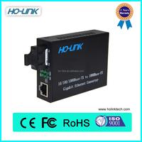 Best price 40km 10/100/1000M high quality single mode media converter