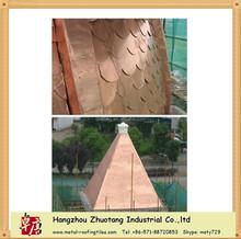 We have factory price copper asphalt shingle tile