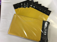 Yellow courier bags plastic envelopes